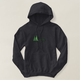 Maine Pine Tree Embroidered Shirt