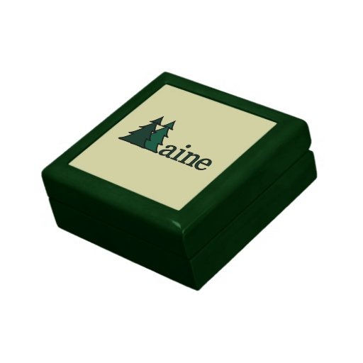 Maine Pine Trees Gift Boxes