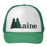 Maine Pine Trees Hats