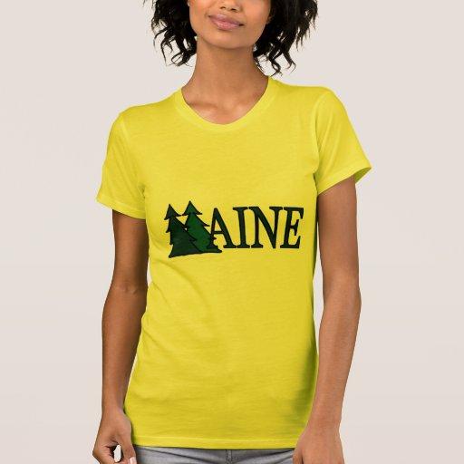 Maine Pine Trees II T Shirt