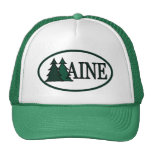 Maine Pine Trees II Trucker Hat