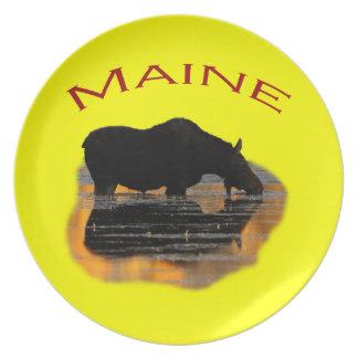 Maine Plato De Comida