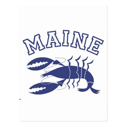 Maine Post Card