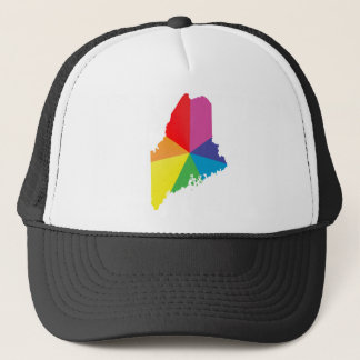 maine pride. trucker hat