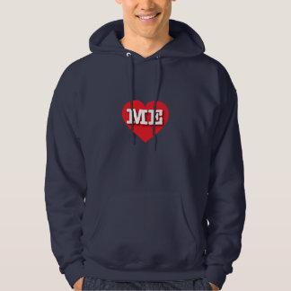 Maine Red Heart - Big Love Hoodie