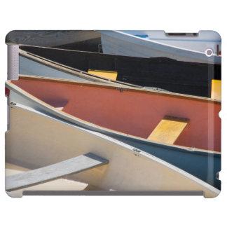 Maine, Rockland. Barcos coloridos en Rockland Funda Para iPad