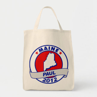 Maine Ron Paul Tote Bag