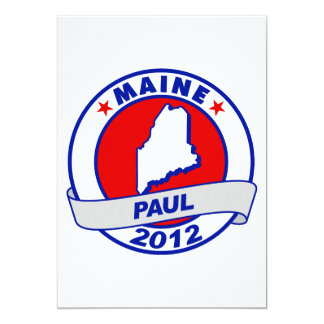 Maine Ron Paul Card