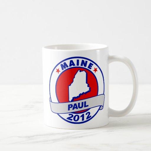 Maine Ron Paul Classic White Coffee Mug