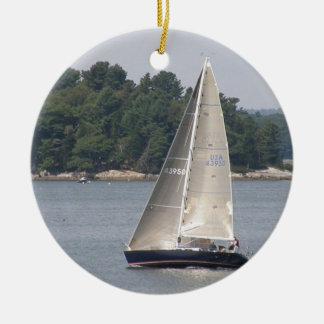 Maine Sailing Ornament