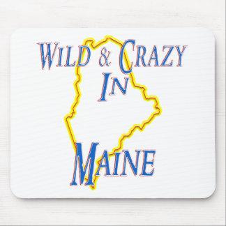 Maine - salvaje y loco alfombrillas de ratones