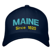 Maine Since 1820 Cap