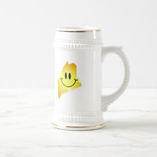 Maine Smiley Face 18 Oz Beer Stein