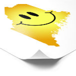 Maine Smiley Face Photograph
