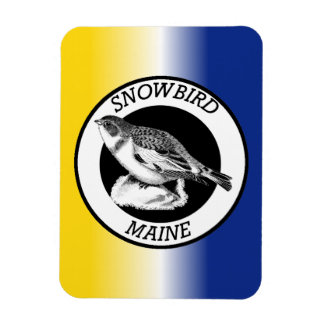 Maine Snowbird Magnet