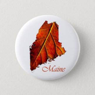 Maine Souvenir Gift Item Button