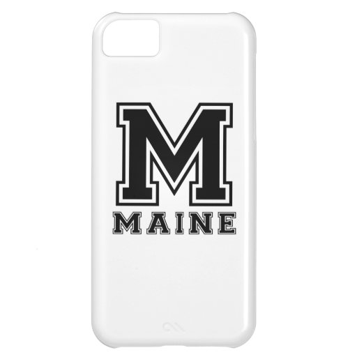 Maine State Designs Case For iPhone 5C