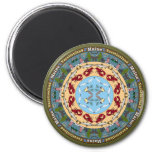 Maine State Mandala Magnet Magnets