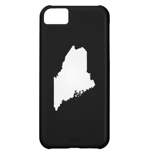 Maine state outline cover for iPhone 5C