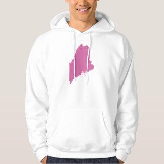 Maine state outline sweatshirt