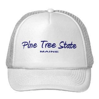 Maine State Slogan Trucker Hat