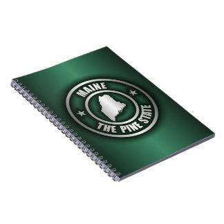 Maine Steel 2 Spiral Notebook