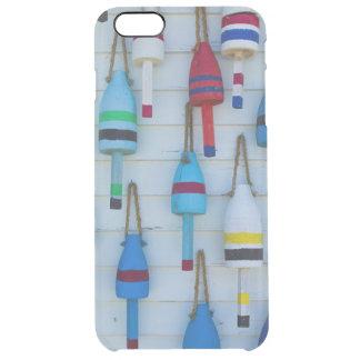 Maine, Stonington, decorative lobster buoys Clear iPhone 6 Plus Case