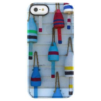 Maine, Stonington, decorative lobster buoys Clear iPhone SE/5/5s Case