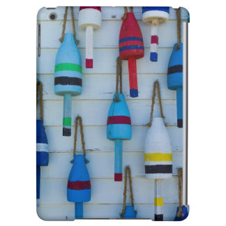 Maine, Stonington, decorative lobster buoys Cover For iPad Air