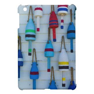 Maine, Stonington, decorative lobster buoys iPad Mini Case