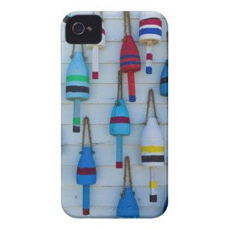 Maine, Stonington, decorative lobster buoys iPhone 4 Covers