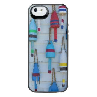 Maine, Stonington, decorative lobster buoys iPhone SE/5/5s Battery Case