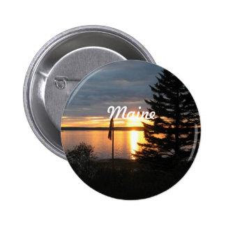 Maine Sunset Pin