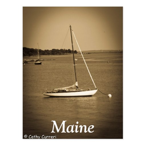 Maine Tarjeta Postal