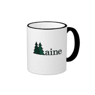Maine Taza De Dos Colores