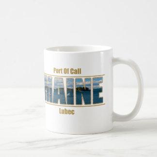 Maine text Image - Port Of Call Coffee Mug