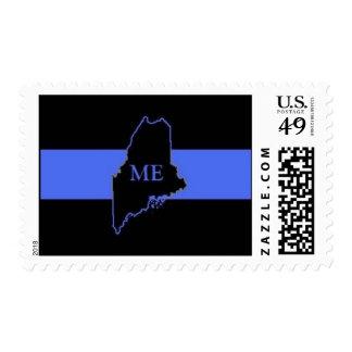 Maine Thin Blue Line postage stamp