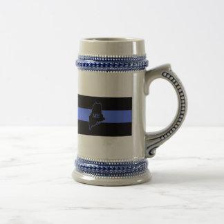 Maine Thin Blue Line Stein