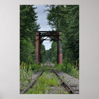 Maine Train Tressel Bridge Posters