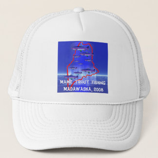 Maine  Trout  Fishing Trucker Hat