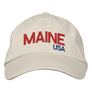 Maine USA* Adjustable Hat