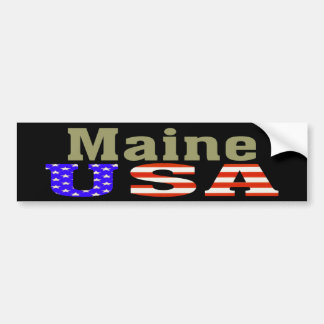 Maine USA! Bumper Sticker