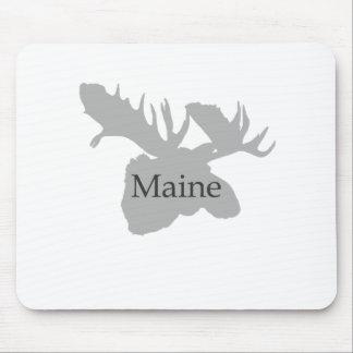 Maine USA Logo (moose) Mouse Pad
