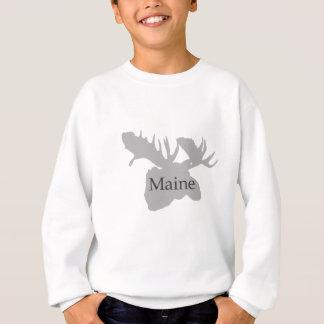Maine USA Logo (moose) Sweatshirt