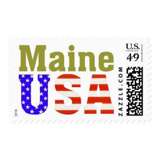 Maine USA! Stamps