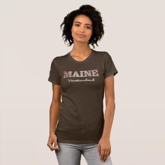 Maine -- Vacationland -- T-shirt