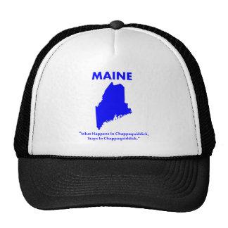 Maine - What Happens in Chappaquiddick... Trucker Hat