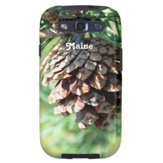 Maine White Pine Galaxy S3 Cases