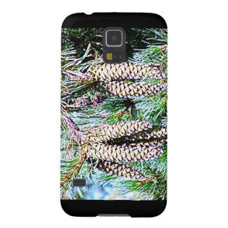Maine White Pine Cone Galaxy S5 Case