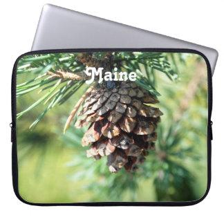 Maine White Pine Laptop Computer Sleeves